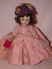 "Vintage 8"" Strung Bent Knee Madame Alexander Doll-ALEX In Pink Gown"