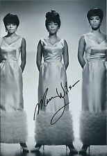 Mary WILSON SIGNED Autograph 12x8 Photo AFTAL COA Supremes R&B Soul Singer