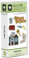 Cricut Handy Man Shapes Cartridge & Sealed In Package Father Husband Dad
