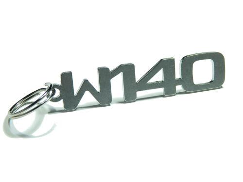 """Llavero /""""w140/"""" para mercedes clase s 300 420 500 600 s500-acero inoxidable"""