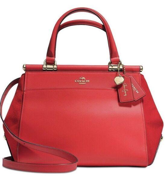 862fc837ef Coach 24053 Selena Gomez Grace Leather Satchel Bag for sale online ...