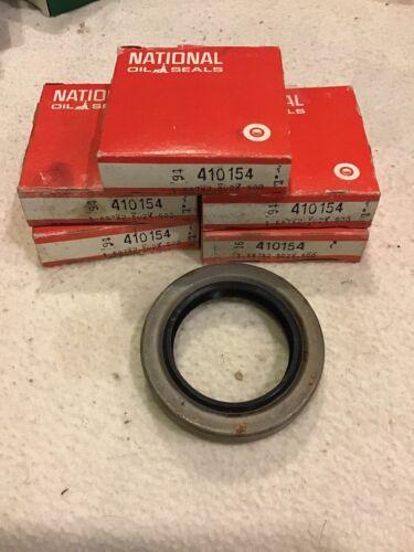 Lot of 5 National Oil Seal 410154 sz 1.687 X 2.502 X .500 Seals Federal Mogul