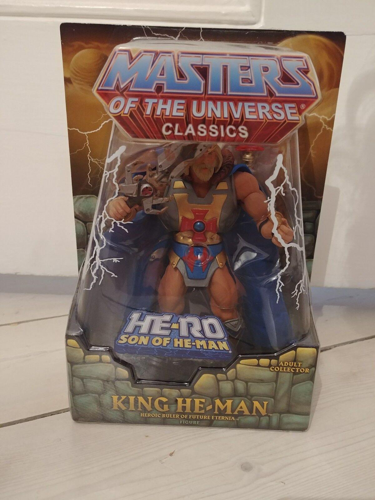 King He-Man Masters of the Universe Classics Motuc-Con Mailer, FUMETTO mancante