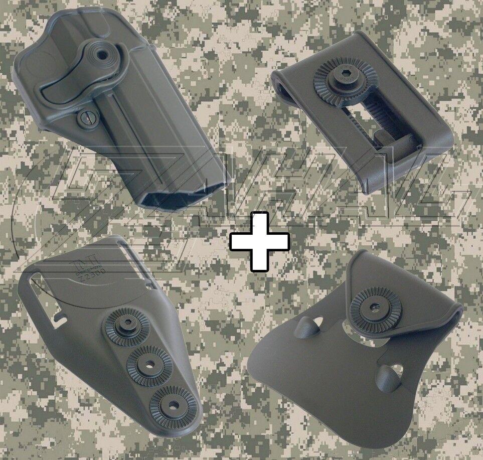 IMI Defense-Jericho Fs Combo rojoo funda Intercambiables accesorio Kit
