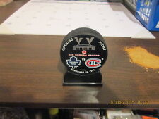 NHL Opening Night Air Canada Centre Leafs Montreal Puck