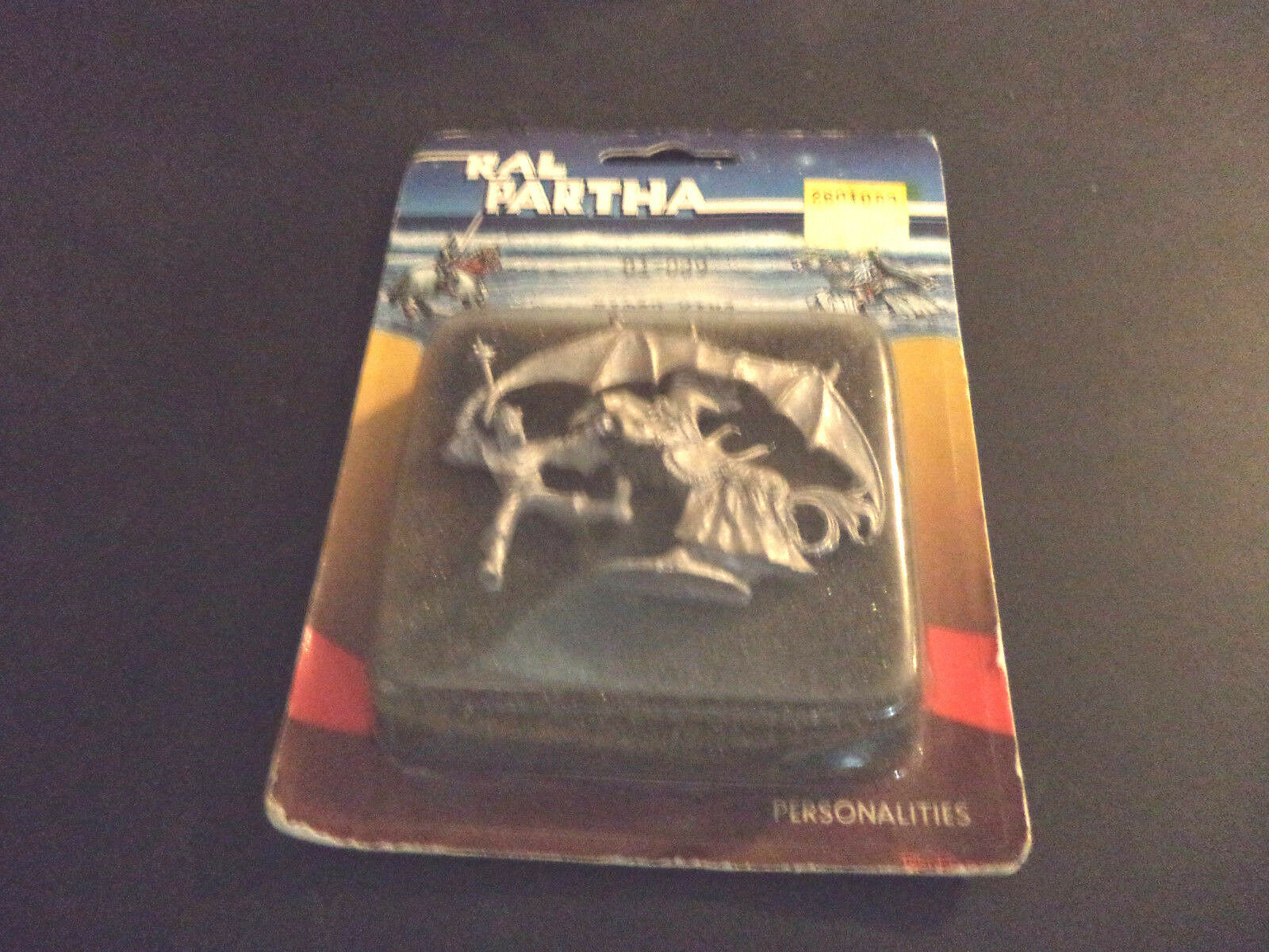 01-089 Witch King on Flying Charger - Ral Partha Personalities Sealed 1983