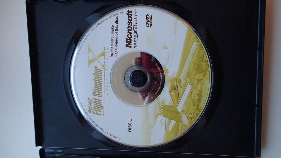 Microsoft flysimulator, til pc, simulation
