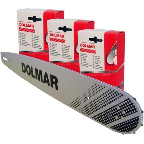 DOLMAR Schneidgarnitur 38 cm 3//8 1.5 für PS-43 460 4600 4605 500 5000 510 5105 H