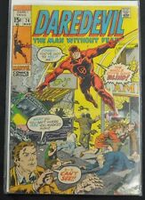 DAREDEVIL #74  - 1971 (3.5) THE WHOLE CITY IS BLIND!