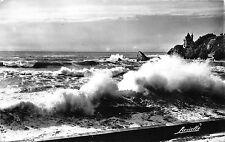 BR18856 Biarritz un bel effet de vague a la cote des Basques  france