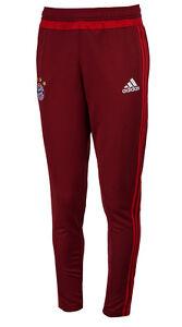 Image is loading Adidas-FC-Bayern-Munich-Training-Pants-S27274-Soccer-