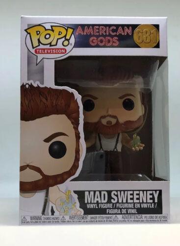 New Funko Pop Television Vinyl Figure American Gods 681 Mad Sweeney
