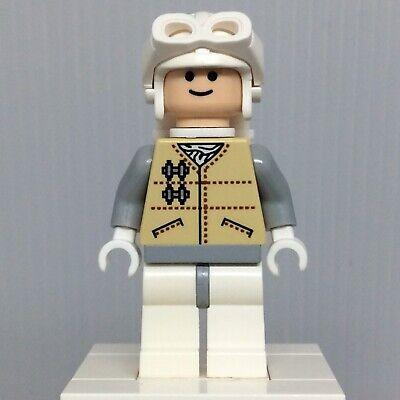 Lego Star Wars Minifigure Hoth Rebel White Visor Goggles Sw0167