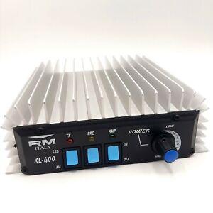 RM-ITALY-KL-400-CB-Amplificateur-lineaire-27-MHz-10-m-200-W-AM-FM-400-W-Bande-Laterale-Unique