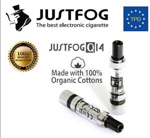 ATOMIZZATORE JUSTFOG Q14 Sigaretta Elettronica Spedizione Express