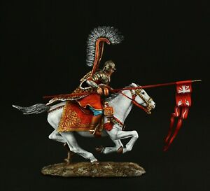 Tin-soldier-Museum-TOP-Polish-Winged-Hussar-XVII-c-54-mm