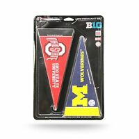 Big 10 Conference College Bedroom Mancave Mini Pennant Set
