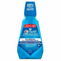 2 Pack - Crest Pro-health Oral Rinse Refreshing Clean Mint 250 Ml Each on sale