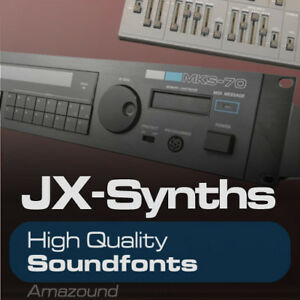 Details about MKS70 & JX10 SOUNDFONTS 128 SF2 FILES 1024 SAMPLES PC MAC FL  STUDIO GREAT VALUE