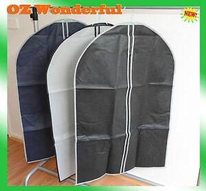 1pc-Garment-Bag-Suit-Cover-Coat-Storage-60-x-90cm-With-Zipper-Good-quality