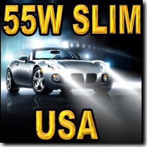 55W-H11-SLIM-Xenon-HID-Headlamp-Kit-For-Low-Beam-10000K