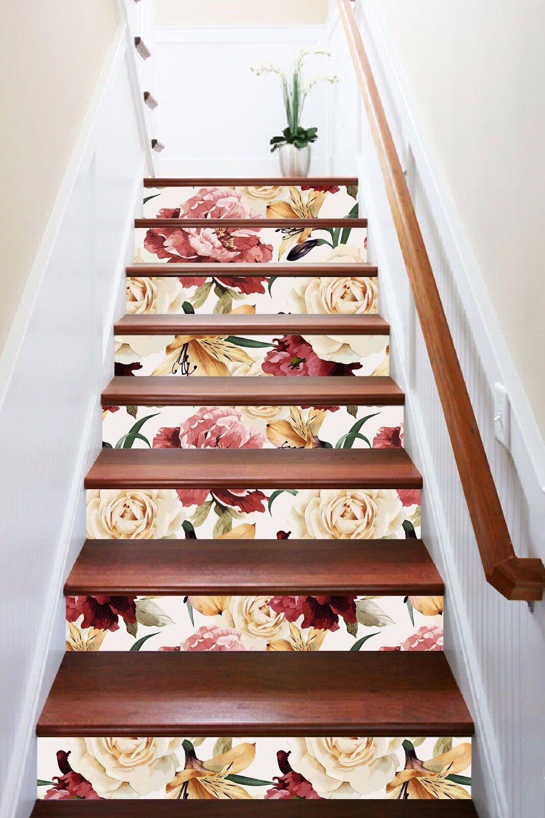 3D Kunst Blaume 9038 Stair Risers Dekoration Fototapete Vinyl Aufkleber Tapete DE