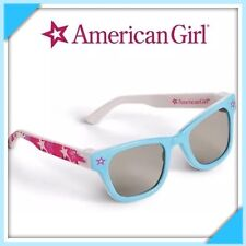 """Brand New AMERICAN GIRL STARRY BLUE SUNGLASSES /& PINK CARRYING CASE FOR 18"""" DOLL"""