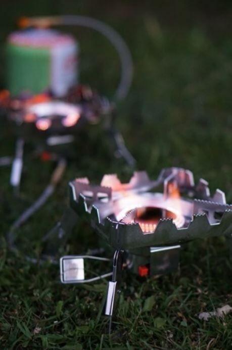 Ridge Monkey Quad Connect Fornello Kit Completo Attrezzatura Pesca Alla Carpa