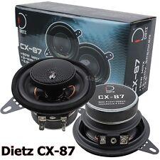 Dietz CX-87-87mm 8,7cm Koax Lautsprecher Paar für Fiat Punto 1 176