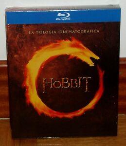 EL HOBBIT LA TRILOGIA CINEMATOGRAFICA 6 BLU-RAY PRECINTADO NUEVO (SIN ABRIR) R2