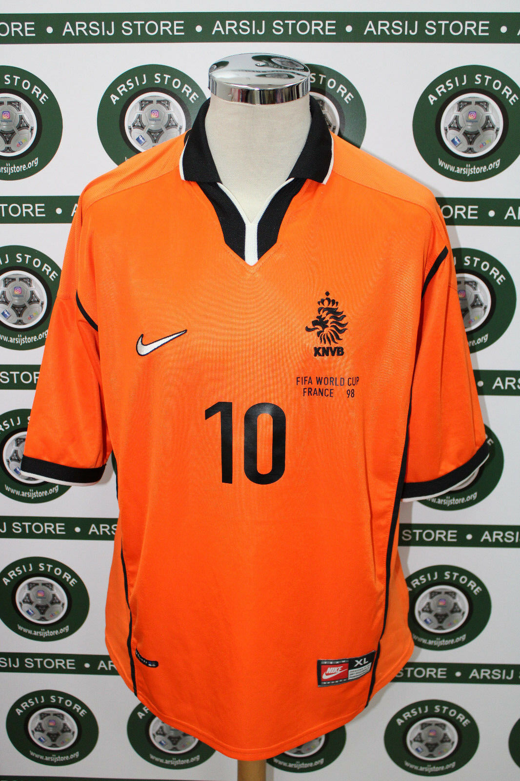 Maglia calcio shirt maillot camiseta trikot OLANDA SEEDORF TG XL 1998 NO RIPRODU