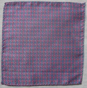 Hankie Pocket Square Handkerchief MENS Hanky PINK BLUE