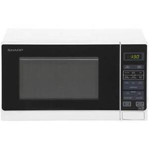 Sharp Microwave R272wm 800 Watt Microwave Free Standing