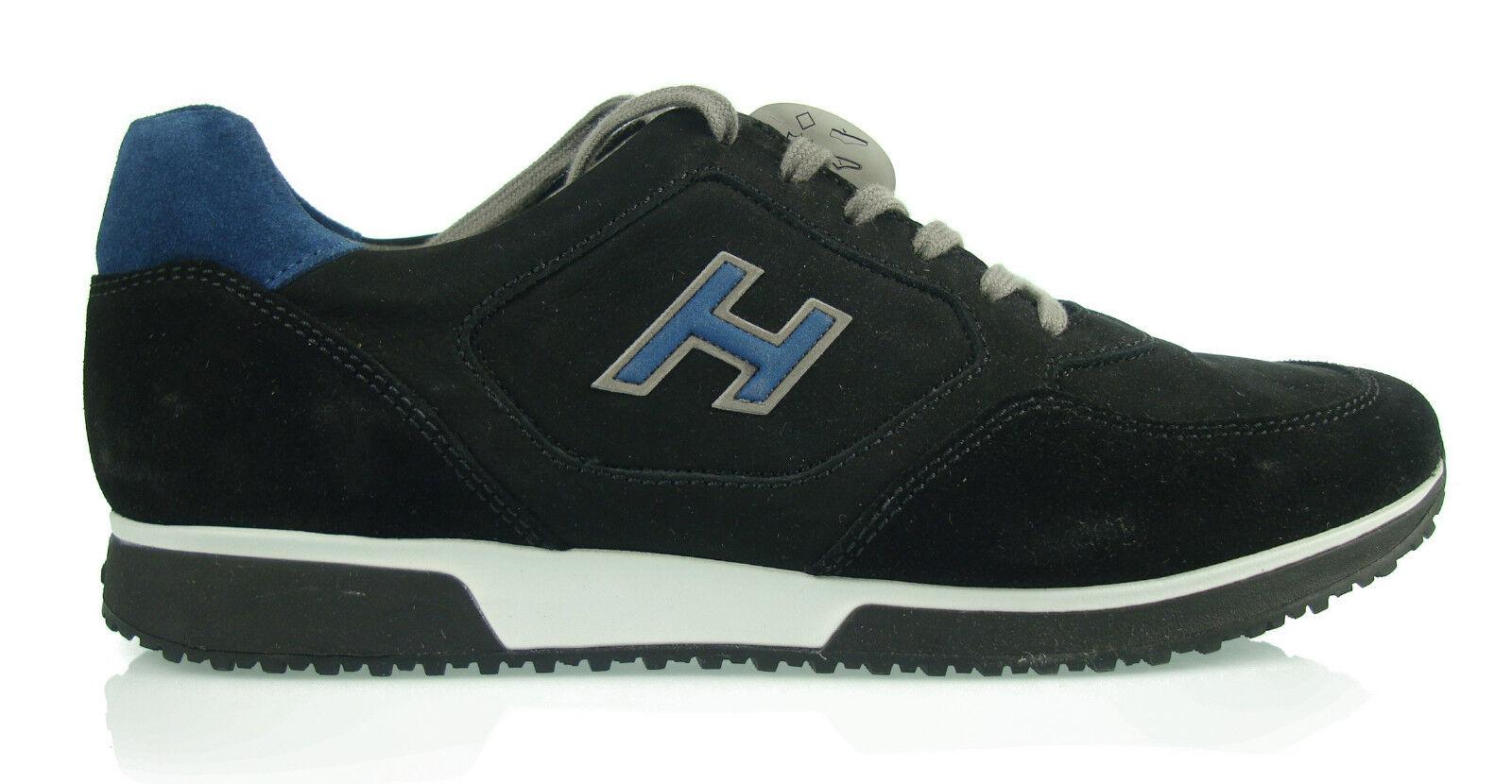 HOGAN INTERACTIVE zapatos de hombre nuevo H198 H REBAÑO 100% authent. m1