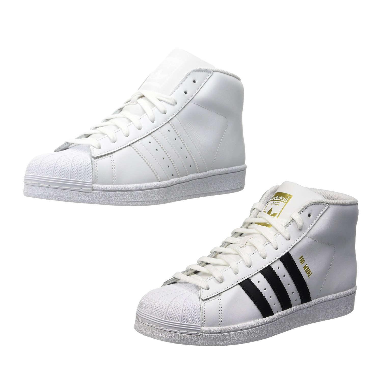 ADIDAS ORIGINALS PROMODEL Schuhe Sneaker Turnschuhe Weiß Gr