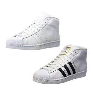 Details zu ADIDAS ORIGINALS PRO MODEL Herren Turnschuhe Sportschuhe Sneaker Mid