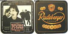 "ROLLING STONES ""BRIDGES TO BABYLON TOUR"" / RADEBERGER BIERDECKEL SET - 6 STÜCK"