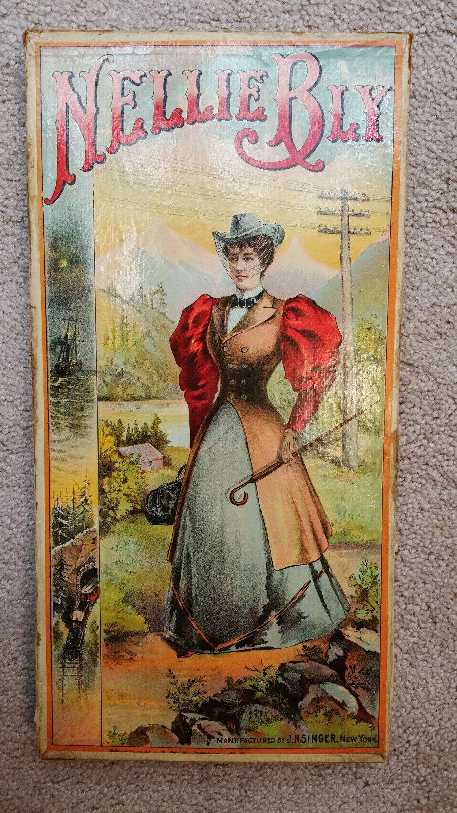 Nelli BLY J. H. Singer Circa. 1900-s Âges 18+