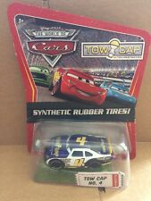 DISNEY CARS DIECAST Tow Cap No. 4 With Synthetic Rubber Tires - Combined Postage