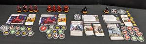 Star-Wars-Legion-Painted-Emperor-Palpatine-Vader-Imperial-Royal-Guard-LOT-L10