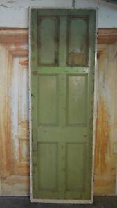 T18-29-3-4-x-89-1-2-Old-Original-Reclaimed-Rare-and-Unusual-Period-Pine-Door