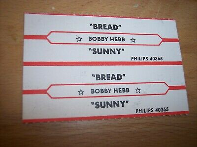 """1 Bread Lost Without Your Love Jukebox Title Strip for CD 7/"""" 45RPM Record"""