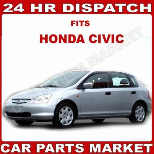 Droit côté conducteur aile plat en verre miroir pour Honda Civic 2001-05 Chauffant Plaque
