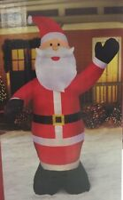 inflatable santa claus outdoor holiday christmas home decoration airblown