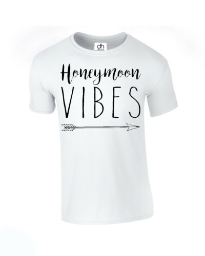 Lune de miel Vibes T-shirt Interracial Future femme femme couple MATCHING Mariage VIBES, t shirt