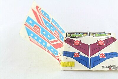 Transformers G1 Minerva Sticker Sheet Repro