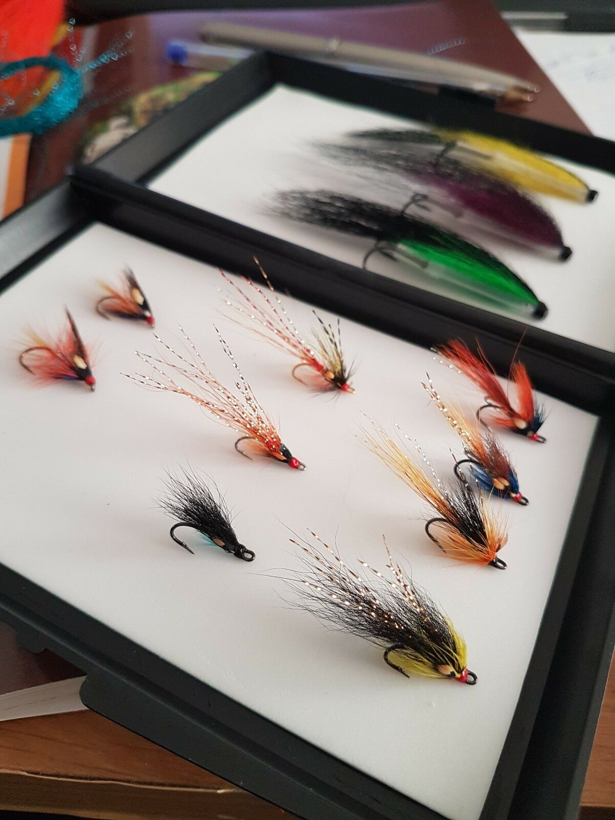 Low Water Salmon Fly  Boxed Selection Small  save 60% discount