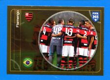 FIFA 365 2016-17 Panini 2017 Figurina-Sticker n. 602 - GOAL FLAMENGO-New