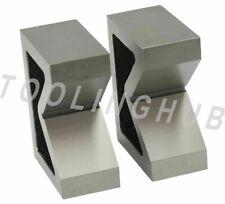 3 Cast Iron V Block Set Of 2 Pcs Vee Various Sizes Milling Engineering Tools