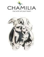 Genuine CHAMILIA 925 silver Disney THUMPER bunny charm bead, retired & rare